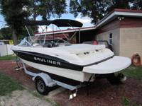 - Stock #079994 - Room for 8 on this Mercruiser 3.0L