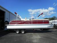 25 ft. elliptical tri-toon, Yamaha 250 outboard