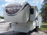 2011 Bighorn 5th wheel.Four slides. Model 3670 RL