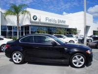CARFAX 1-Owner. 128i trim. EPA 28 MPG Hwy/18 MPG City!