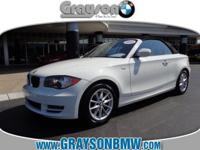 128CV CONVERTIBLE, PREMIUM PACKAGE WITH BMW ASSIST AND