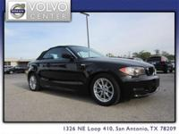 2011 BMW 1 Series Convertible 128i, w/ Leather &