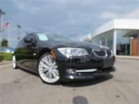 2011 BMW 335i Coupe !! Certified! Black Sapphire
