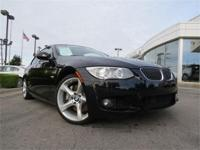 2011 BMW 335i Certified!! Low Miles! Traditional Black