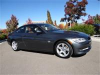 328i xDrive, 2D Coupe, 3.0L 6-Cylinder DOHC, 6-Speed,