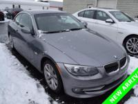 2011 BMW 3 Series 328i in Space Gray Metallic.
