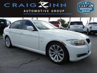 New Arrival! LOW MILES, This 2011 BMW 3 Series 328i