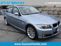 Sussex Honda is excited to offer this 2011 BMW 3