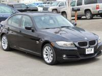 New Price! Clean CARFAX. Jet Black 2011 BMW 3 Series