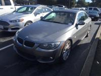2011 BMW 3 Series 335i in Gray. Stability and traction