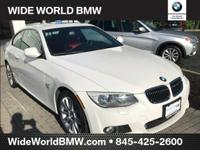 CARFAX One-Owner. Alpine White 2011 BMW 3 Series 335i