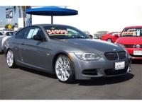 CARFAX 1-Owner. 335is cut, Room Gray Metallic outside.