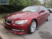 328i trim. CARFAX 1-Owner, ONLY 15,961 Miles! FUEL