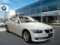 BMW Certified, GREAT MILES 34,325! Mineral White