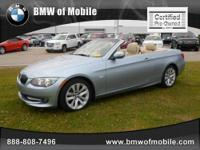 BMW of Mobile presents this 2011 BMW 3 SERIES 2DR CONV