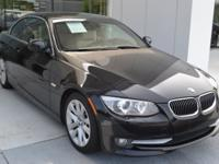This 2011 BMW 328i Convertible is Black Sapphire