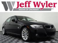 Jet Black 2011 BMW 3 Series 328i xDrive AWD 6-Speed