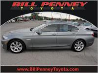 2011 BMW 5 Series 4 Dr Sedan 550i Our Location is: Bill