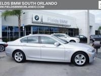 528i trim. CARFAX 1-Owner, ONLY 37,750 Miles! EPA 32