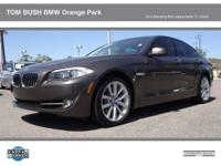 2011 BMW 5 Series 4dr Car 535I Our Location is: Tom