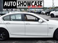 This 2011 BMW 5 Series 4dr 528i features a 3.0L