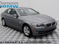 Dare to compare! Get excited about the 2011 BMW 528i!
