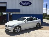 Options:  2011 Bmw 5 Series 528I|White|**One