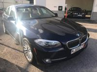 We are excited to offer this 2011 BMW 5 Series. This