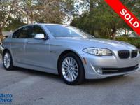 You're looking at a 2011 BMW 5 Series 535i in Car