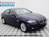 Step into the 2011 BMW 535i xDrive! It delivers style