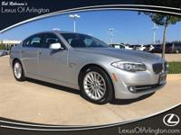 CARFAX One-Owner. 2011 BMW AWD 8-Speed Automatic 5