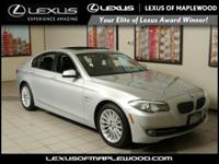 EPA 29 MPG Hwy/19 MPG City! 535i xDrive trim. Moonroof