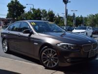 New Price! BROWN 2011 BMW 5 Series 550i RWD 8-Speed