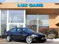1 OWNER 2011 BMW 550i SPORT! VERY RARE six GEAR MANUAL