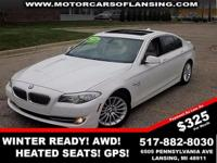 Here's a great deal on a 2011 BMW 535i xDrive! Packed