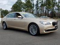 This outstanding example of a 2011 BMW 7 Series 740Li
