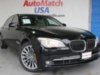 This 2011 BMW 750Li w/ Blindspot monitors, NAV, backup
