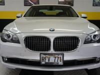 This 2011 BMW 7 Series 4dr 740i Sedan features a 3.0L