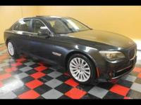 2011 BMW 750Li X-Drive LIKE NEW 2011 BMW 750LI X-DRIVE