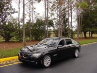THIS BEAUTIFUL 2011 BMW 750LI ACTIVE HYBRID IS AN ULTRA