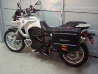 2011 BMW, F650GS, metal silver with 16k miles. This