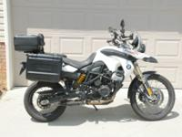 2011 BMW F800 GS loaded adventure Ohlins Wunderlich