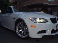 This BMW M3 is ready and waiting for you to take it