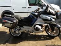 2011 BMW R1200 RT, 1,500 miles. Best color combination