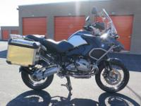 2011 BMW R1200GS Adventure = For a faster response