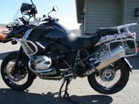 This is an excellent condition r1200gs triple black