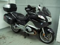 2011 BMW R1200RT, graphite metallic, with only 8998
