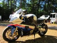 2011 BMW S1000RR. 2011 BMW S1000RR- 1000cc- Only 7741