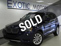 This 2011 BMW X3 4dr xDrive28i 4x4 SUV includes a 3.0 L