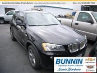 Options:  2011 Bmw X3 Xdrive28i|Black|Need Gas| I Don't